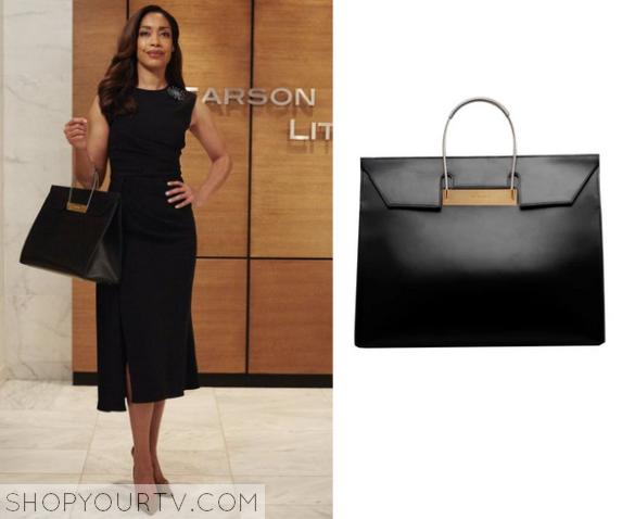 Suits Season 5 Episode 8 Jessica S Black Leather Bag