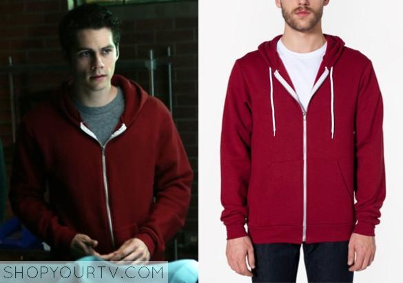 tw 5x07 stiles hoodie
