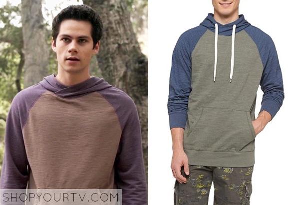 tw 5x09 stiles hoodie