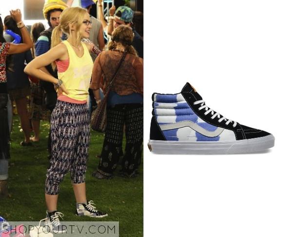 c33ba0add8 Liv   Maddie  Season 2 Episode 23 Maddie s Checkered High-Top Sneakers