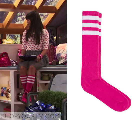 1x01 Bella and the Bulldogs Peppers Pink Socks