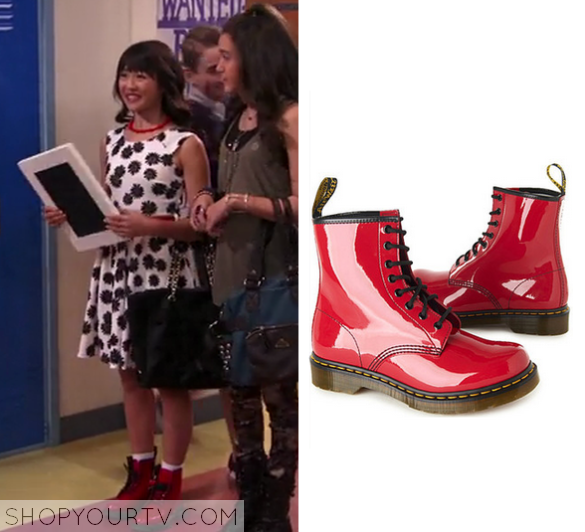 1x13 Bella and the Bulldogs Pepper Patent Boots