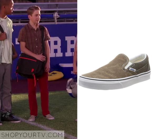 1x17 Bella and the Bulldogs Newt's Color Block Slip On Vans