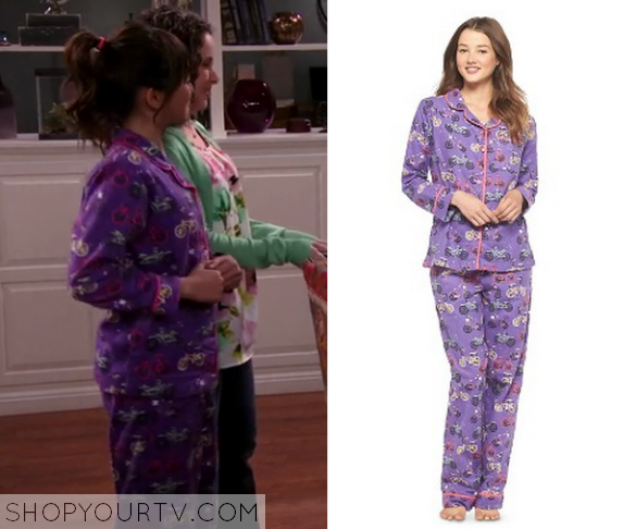 1x17 Bella and the Bulldogs Pepper's Bicycle Pajamas