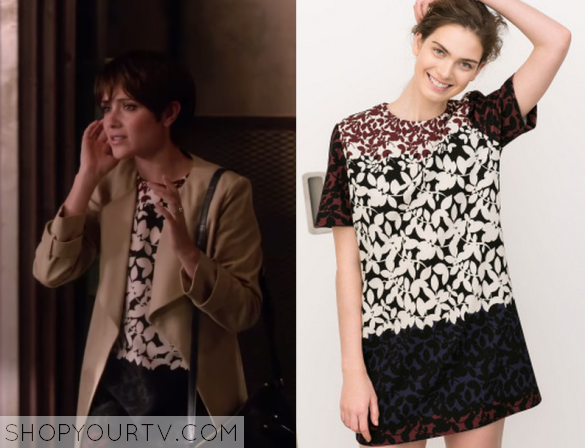 2x12 CHasing Life Floral Dress