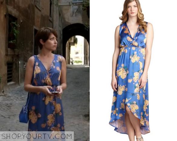 2x13 Chasing Life Aprils Silk Floral Dress