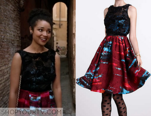 2x13 Chasing Life Beth Textured Dress
