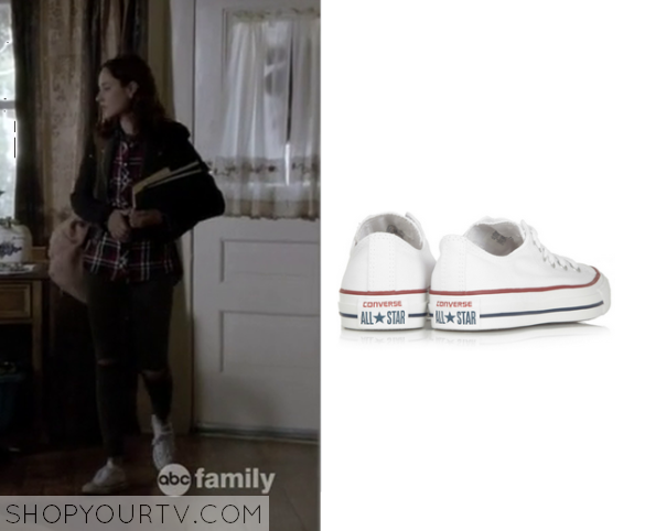 2x9 Chasing Life Brenna Carver White Sneakers