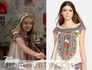 Girl Meets World: Season 2 Episode 14 Maya's Embroidered Tassel Blouse