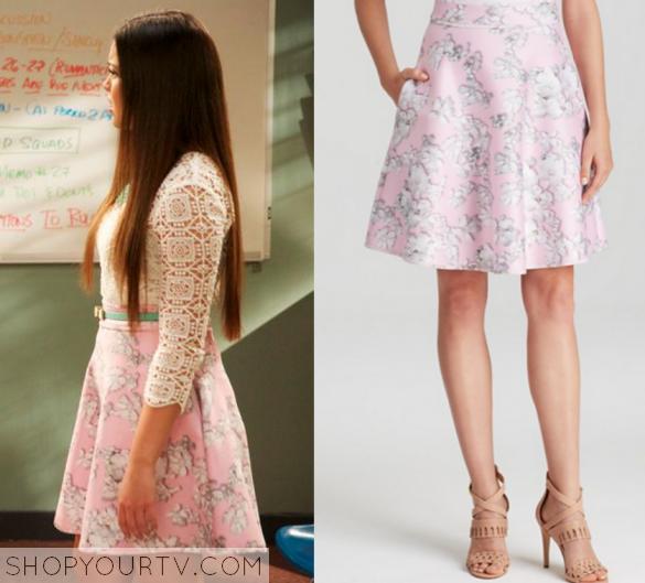 I Didn't Do It 2x17 Jasmines Pink Skirt