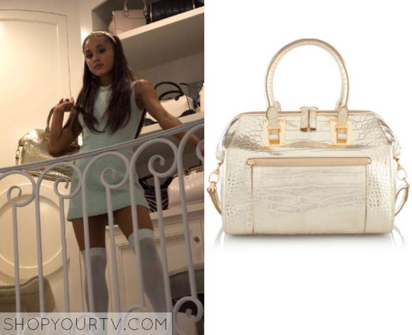 ariana gold bag