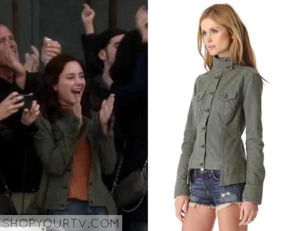 brenna green jacket