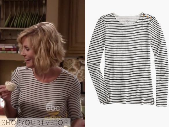 claire striped shirt