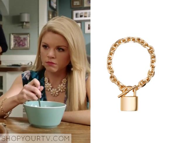 lauren padlock bracelt