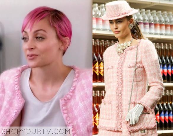 Candidly Nicole: Season 2 Episode 1 Nicole's Pink Tweed Jacket |