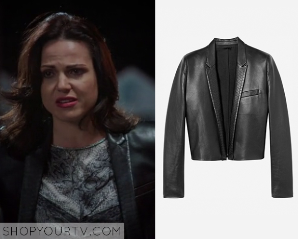regina leather jacket
