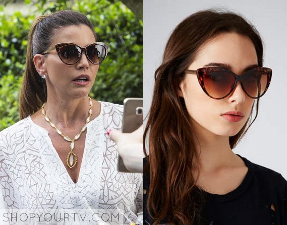 Chanel Cat Eye Sunglasses  scream queens season 1 episode 3 chanel 2 s mom s cat eye