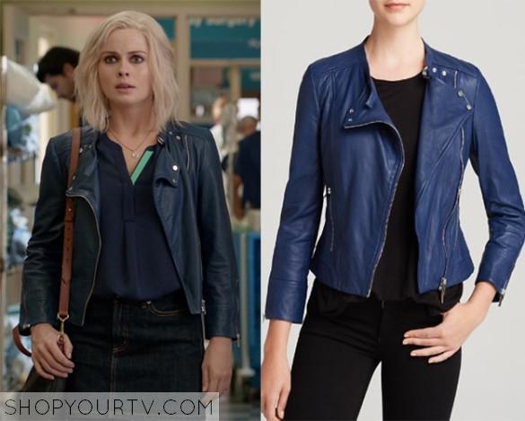 izombie season 2 episode 1 liv s blue leather jacket shop your tv