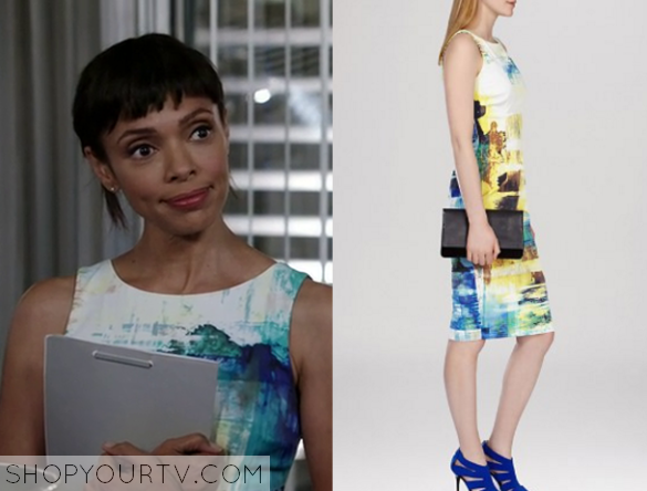 cams print dress