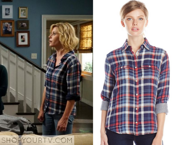 claire plaid shirt