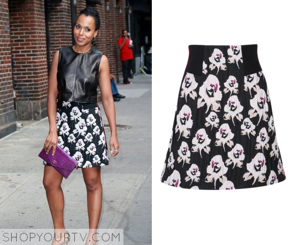 kerry floral skirt