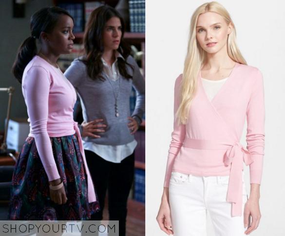 HTGAWM: Season 2 Episode 5 Michaela's Pink Wrap Ballerina