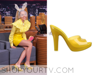 The Tonight Show: October 2015 Miley's Yellow Shows