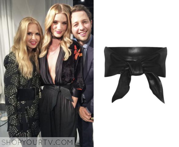 rosie leather wrap belt