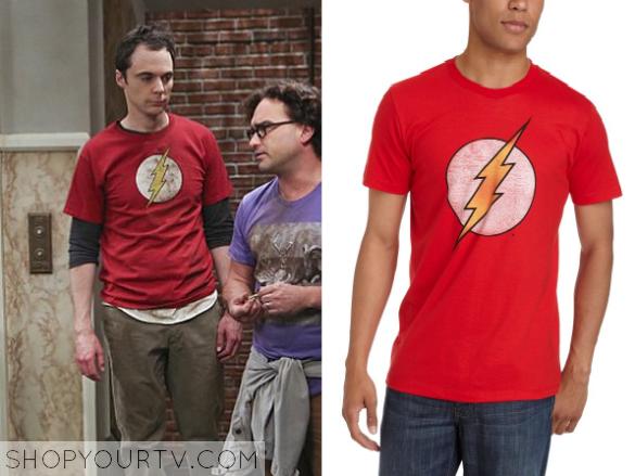 sheldon flash shirt