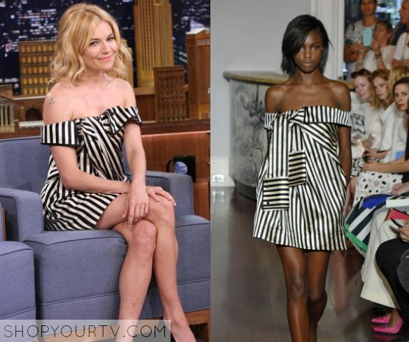 sienna striped dress