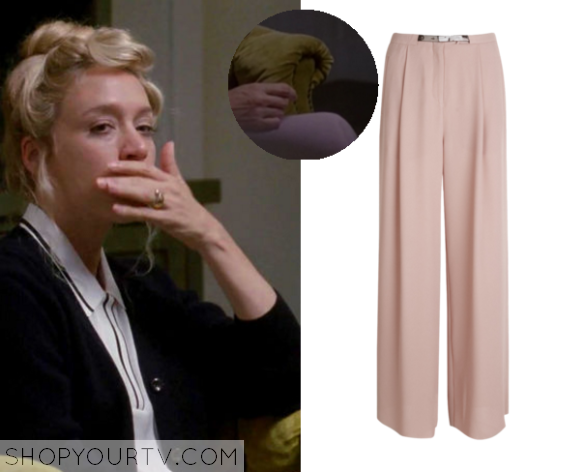 alex pink trousers