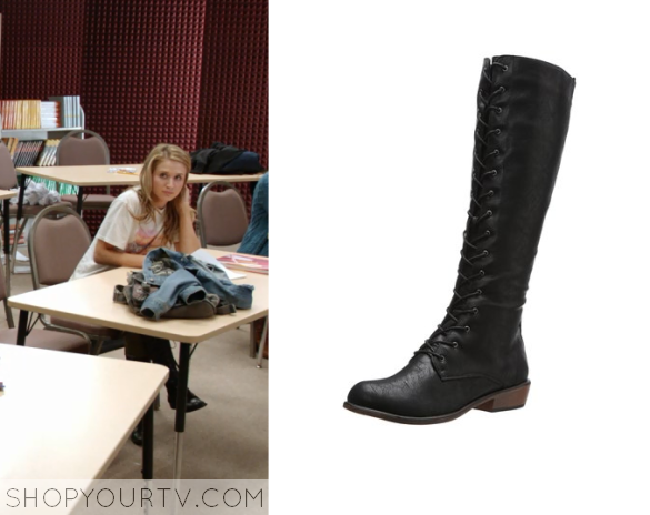amy 2x15 Dirty Laundry Pride Joy boot