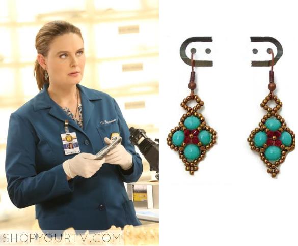 bones earrings