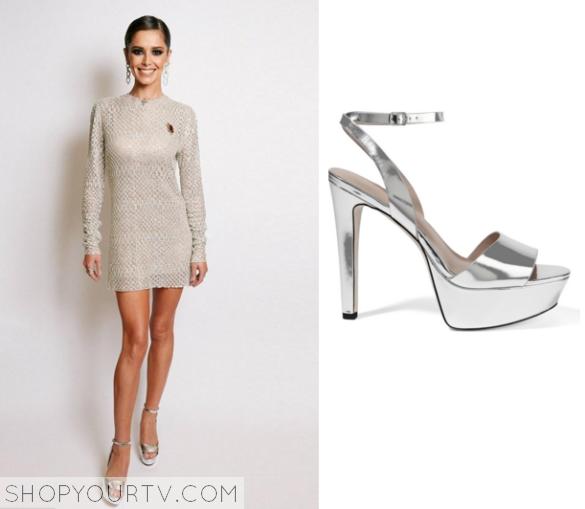 cheryl cole silver heels