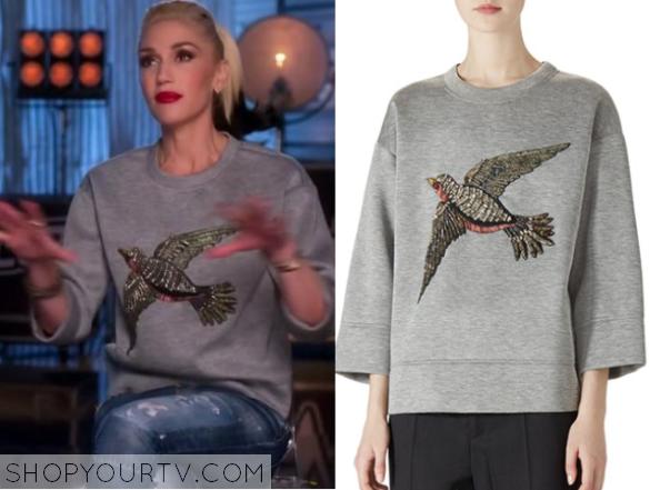 gwen bird sweater