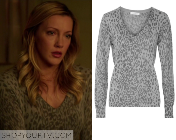 laurel leopard print sweater