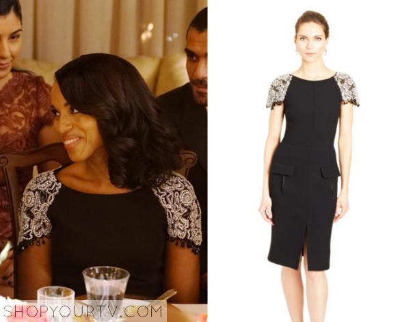 Olivia Beaded Sleeve Dress