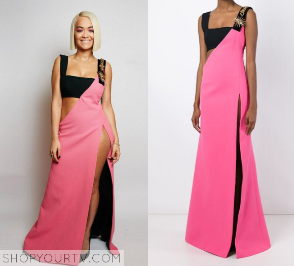 rita ira pink dress