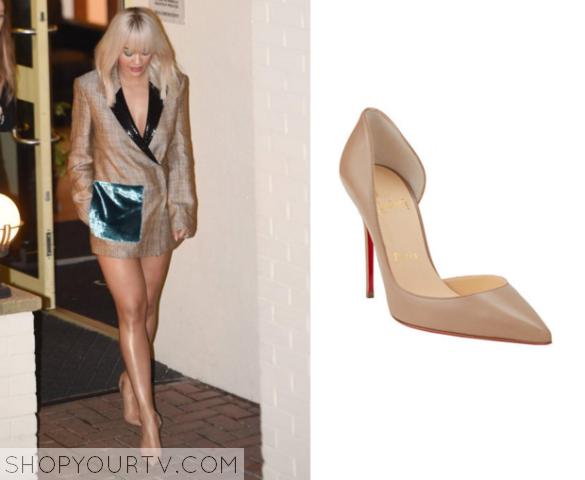 X Factor UK: Season 12 Episode 20 Rita Ora&39s Nude Heels  