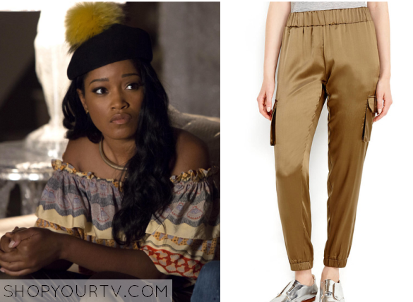 zayday metallic pants