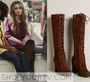 Girl Meets World: Season 2 Episode 26 Maya's Lace up Boots