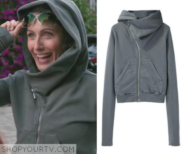 abby grey hoodie