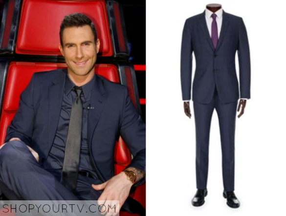 the voice season 9 episode 21 adam levine s blue suit shop your tv