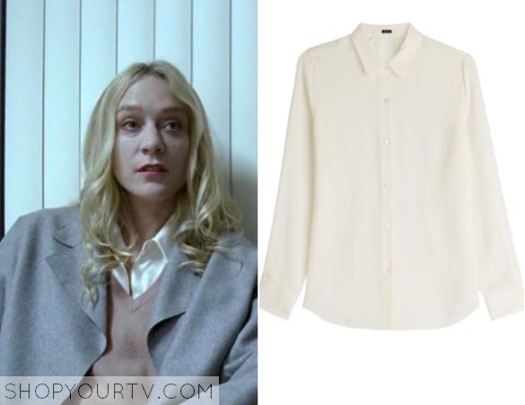 alex white blouse