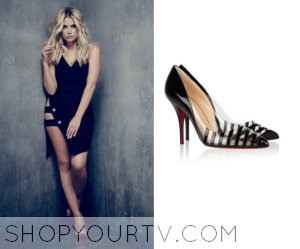 Pretty Little Liars: Season 6B Promo Hanna's Black Cut Out Pumps