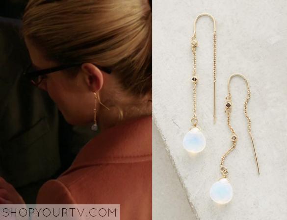 arrow season 4 episode 9 felicity s drop earrings shop