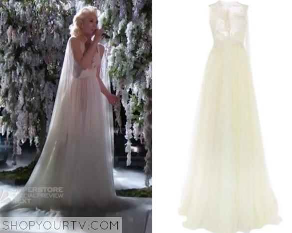gwen white gown
