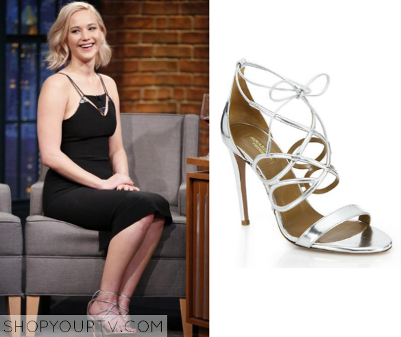 j law silver shoes