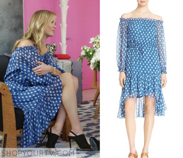 karlie blue dress