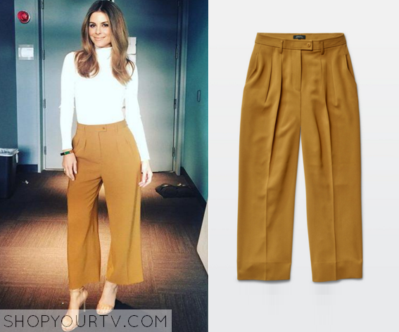 maria brown trousers